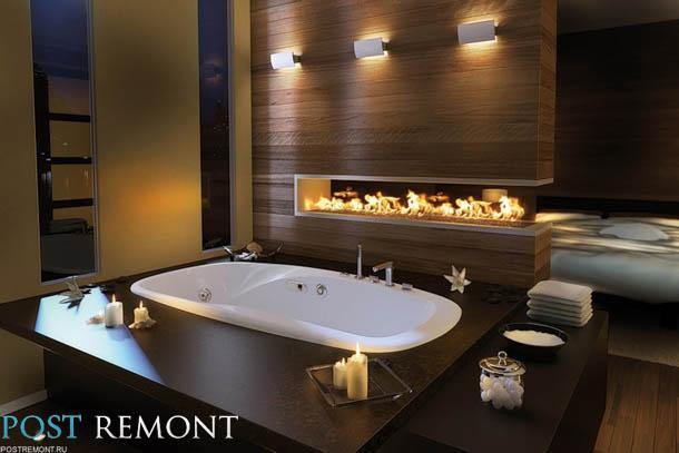 как украсить ванную?