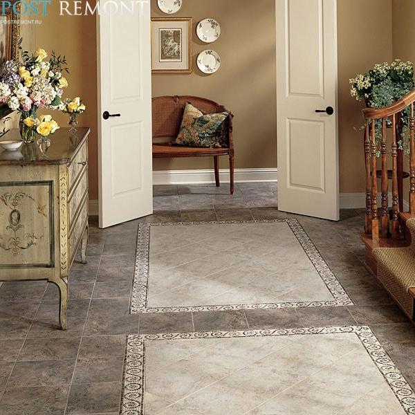 коврик из мозаики