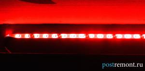монтаж светодиодной ленты своими руками