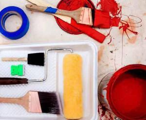 покраска стен своими руками видео