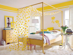 Желтый цвет в квартире