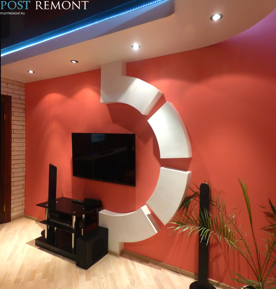 дизайн маленького зала 6