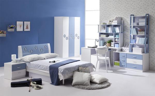 Синий цвет для дизайна детской