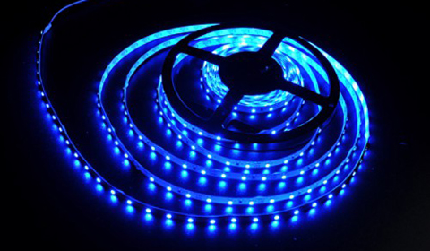 Светодиодная подсветка в интерьере фото