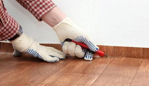 Как отремонтировать линолеум своими руками