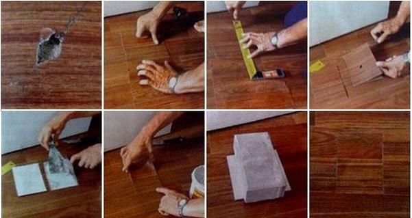 Линолеум ремонт своими руками