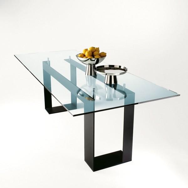 Стеклянный стол для кухни фото