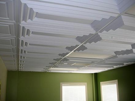 Как клеить пенопластовую плитку на потолок своими руками, PostRemont