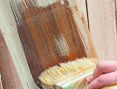 подготовка деревянных поверхностей