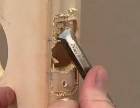 Установка дверной ручки своими руками