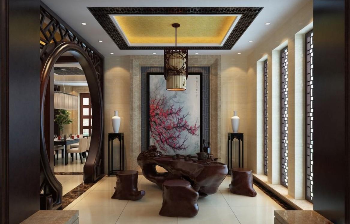 Комната с китайским дизайном