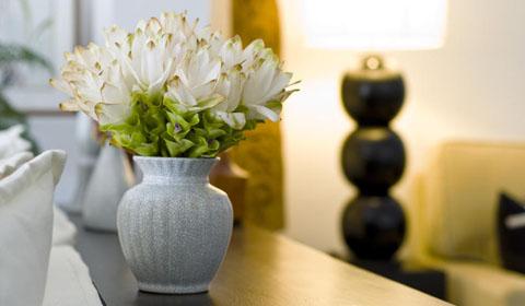 вазы в интерьере фото