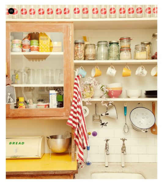 Отделка кухни в винтажном стиле