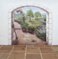рисунки на стенах в квартире фото