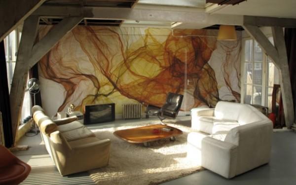 Художественная роспись на стенах фото