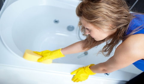 восстановление эмали раковины или ванны