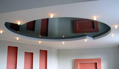 Какие натяжные потолки выбрать – глянцевые или матовые