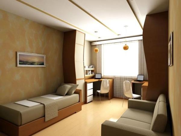Дизайна комнаты для 2 подростков