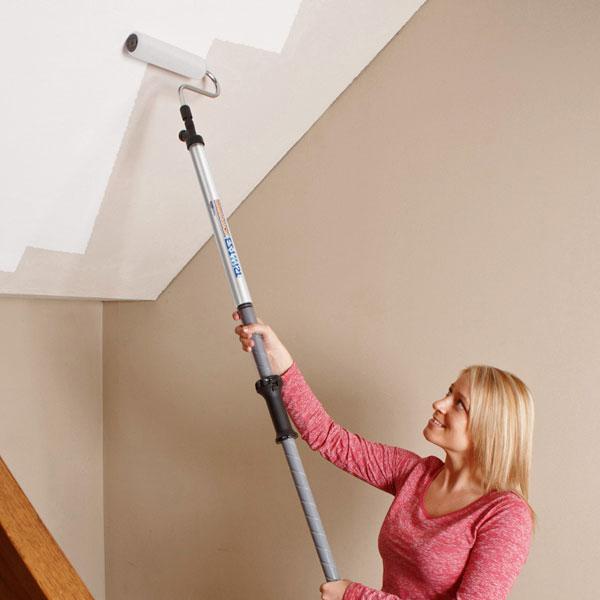Как грунтовать потолок видео