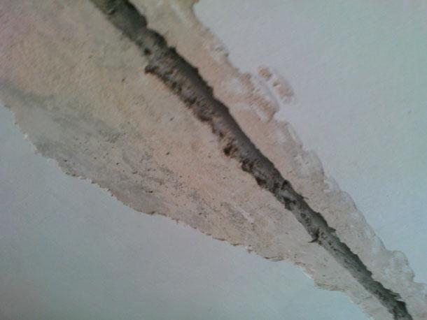 Как заделать сколы в стене