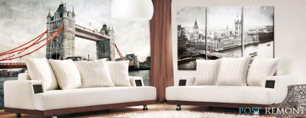 Стильные обои для стен - фото, PostRemont