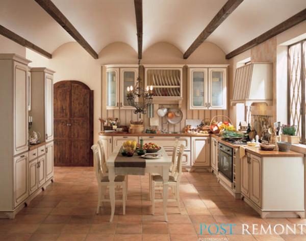 кухни бежевого цвета