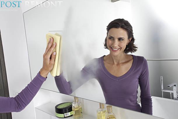 Как в домашних условиях помыть зеркало