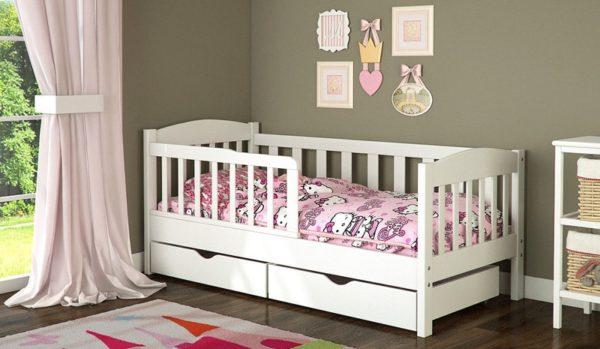 ширина детской кроватки