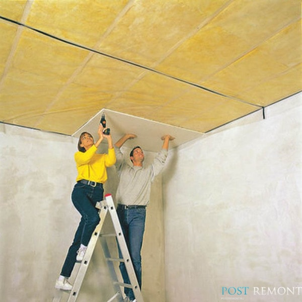 качественная шумоизоляция потолка