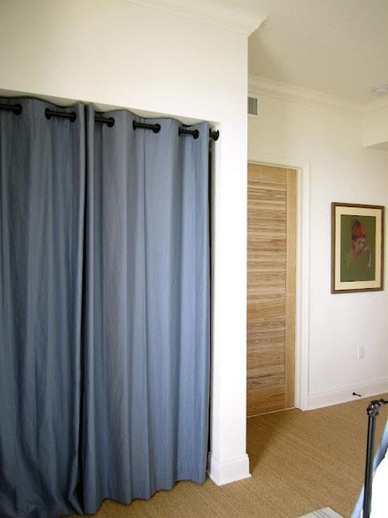штора вместо двери или стены Postremont