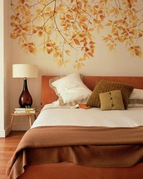 Осенний интерьер квартиры