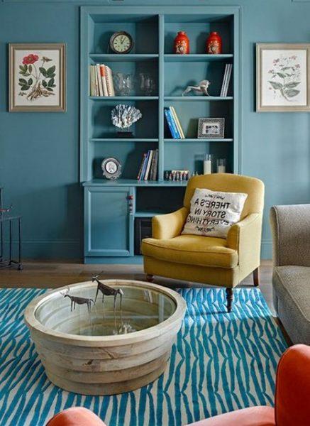Мебель под цвет стен