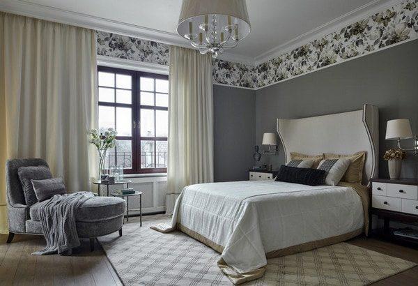 белые шторы фото